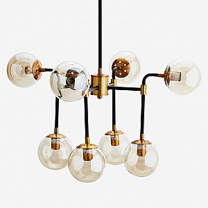 Pendant Lamp with bulbs