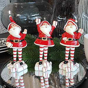 Weihnachtsmann Knut - Winken