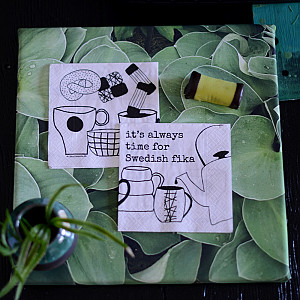 Coffee Napkins Swedish fika