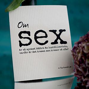 Geschirrtuch Sex