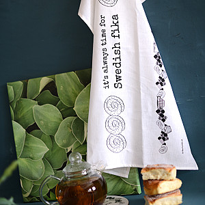 Tea Towel Swedish fika