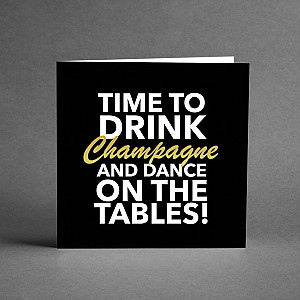 Card Champagne