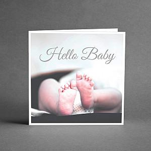 Kort Hello Baby
