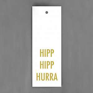 Gift Tag Hipp Hipp Hurra