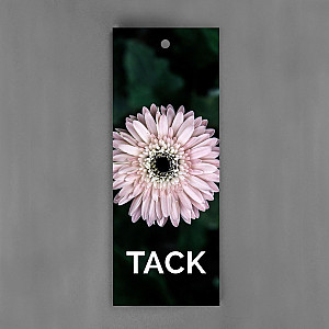 Gift Tag Tack Flower