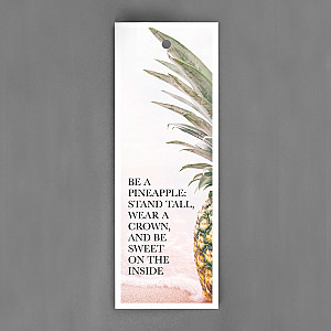Gift Tag Be a pineapple