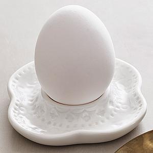 Äggkopp Orient - Vit