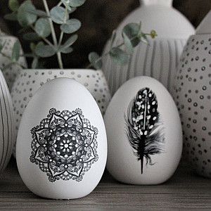 Majas Decor Egg Mandala