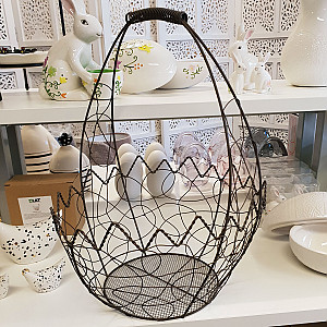 Wire Basket Eggshell