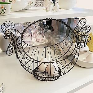 Wire Basket Hen