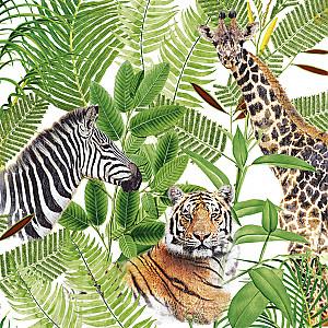 Servietten Safari