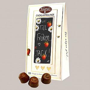 Chocolate Pralines Till Fröken