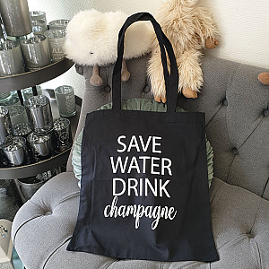 Fabric Bag Save Water
