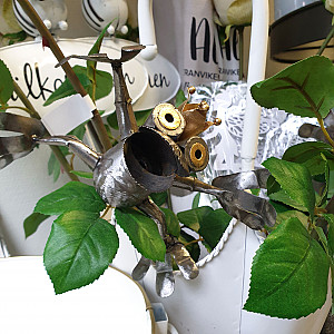 Blomsterstick Groda
