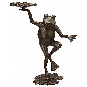 Frog Gabriella with candle holder