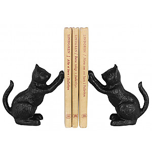 Bookend Cats