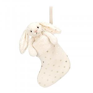Jellycat Bashful Twinkle Bunny Stocking