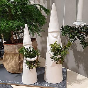 Ceramic Santa Ivar