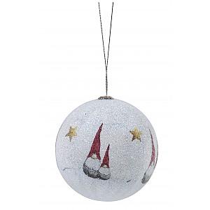 Christmas Ornament Santa High Hat