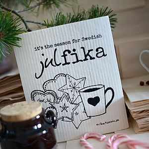 Dish Cloth Swedish Julfika