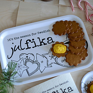 Bricka Swedish Julfika