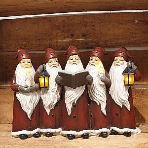 Santa Parade with LED lighting