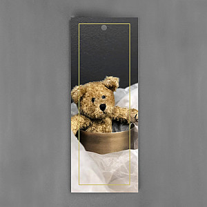 Gift Tag Teddy Bear