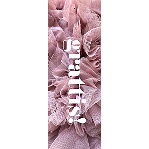 Gift Tag Grattis Pink Tulle