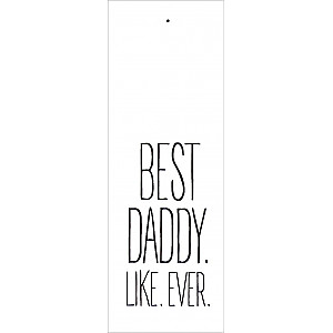 Gift Tag Best Daddy