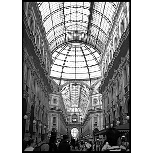 Galleria Vittorio Emanuele Poster