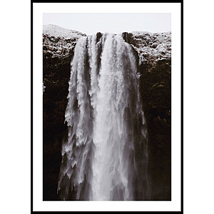 Big Waterfall Poster