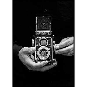 Retro Kamera-Plakat
