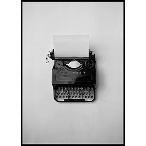 Poster Typewriter