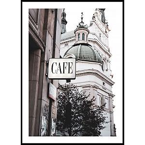Poster Café Warszawa