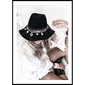 Poster Boho Hat
