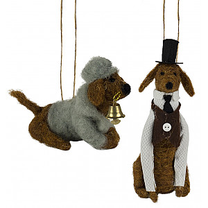 Dogs Hat / Bell set of 2