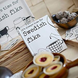 Recept/Anteckningsbok Swedish fika