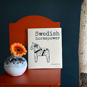 Dish Cloth Swedish horsepower