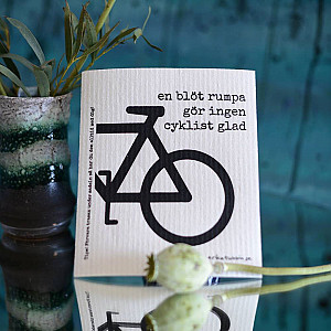 Dish Cloth Bicycle