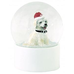 Snow Globe Dog Medium