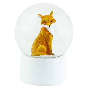 Snow Globe Fox Small
