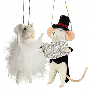 Mice at prom set of 2