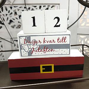 Holzkalender Weihnachten