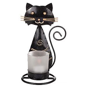 Ljuslykta Katt Plåt