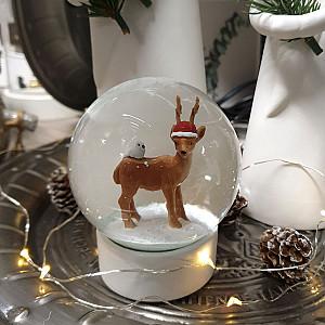 Snow Globe Reindeer Large