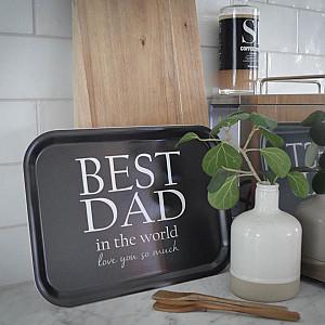 Tablett Bester Papa