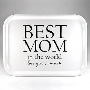 Tray Best Mom