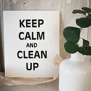 Dish Cloth Keep Calm