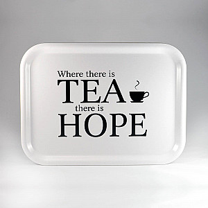 Tray Where there is tea