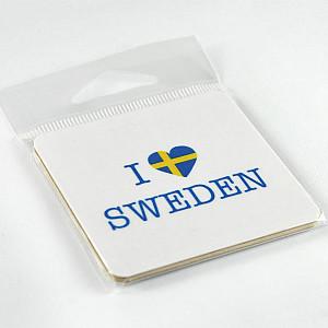 Magnet Ich liebe Schweden